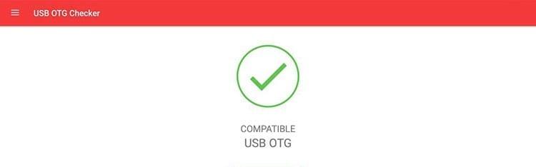 Comprobar compatibilidad USB OTG