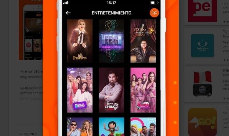 American tvGO para smartphone y Tablet