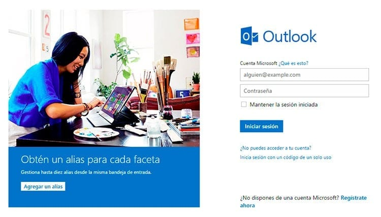 Cómo crear una cuenta Hotmail