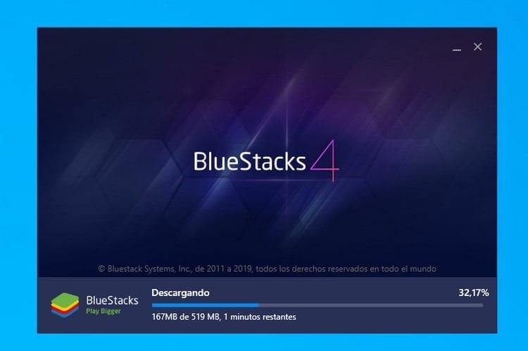 descarga BlueStacks