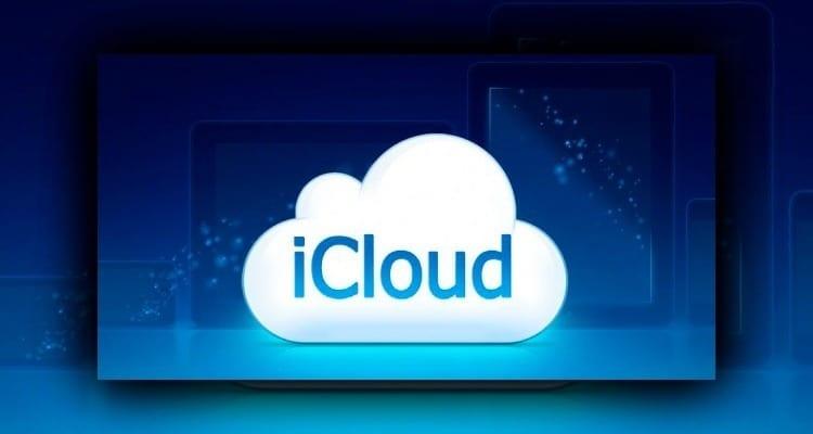 iCloud iniciar sesión