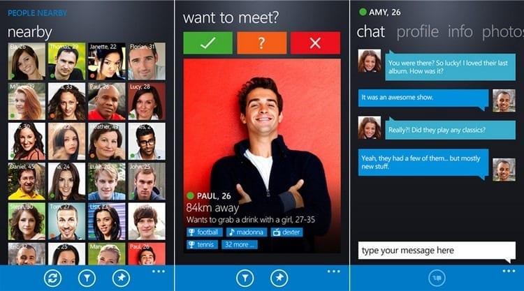 Iniciar sesión en Badoo desde Windows Phone