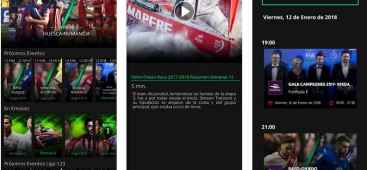 Opensport para smartphone y Tablet