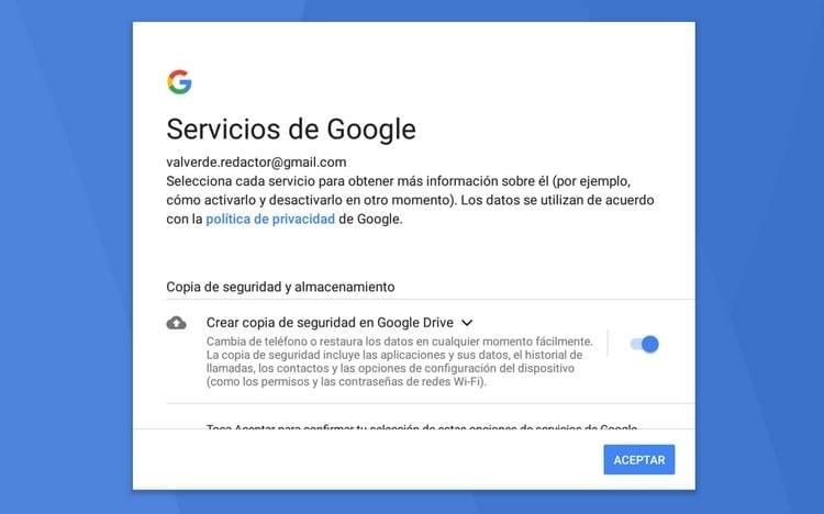 servicios de Google BlueStacks