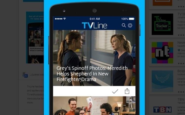 TV Line para smartphone y Tablet