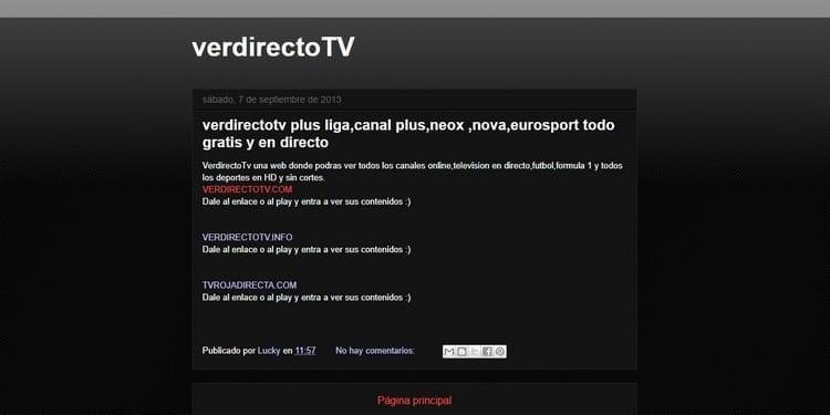 Ver televisión online en Ver Directo TV