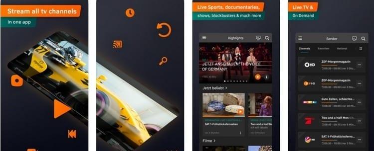 Zatoo Live TV para smartphone y Tablet