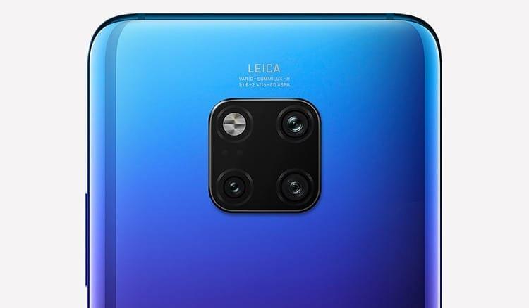 Huawei Mate 20 Pro cámara