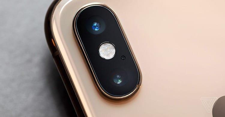 iPhone XS Max cámara