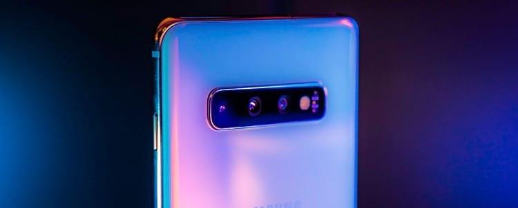 Samsung Galaxy S10+ cámara