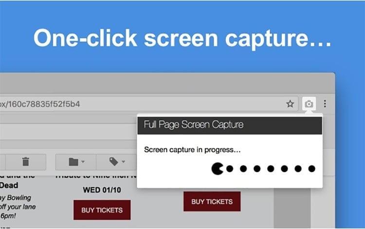 Capturar web completa en Windows 10