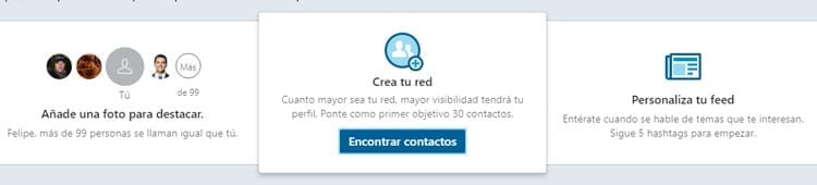Aumentar red contactos linkedin