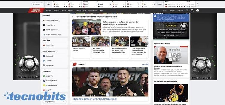 ESPN alternativa de ArenaVision