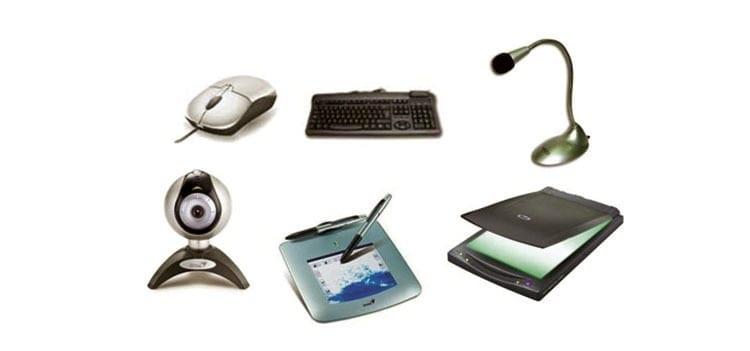 ejemplos de dispositivos de entrada