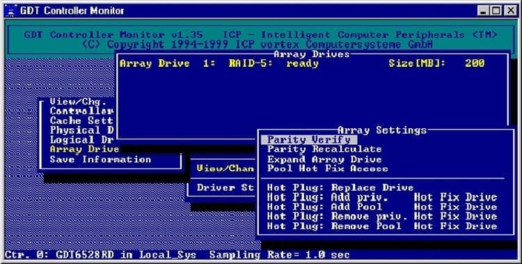 Controladora de RAID por software