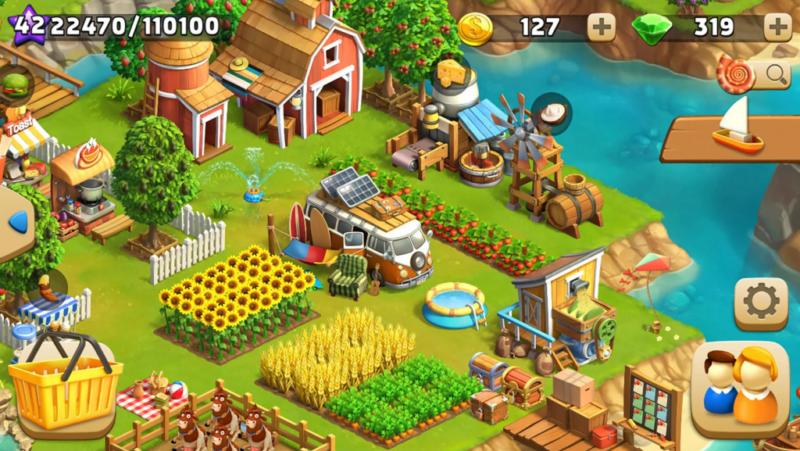 The Tribez y Funky Bay, dos juegos Android de construcción imprescindibles