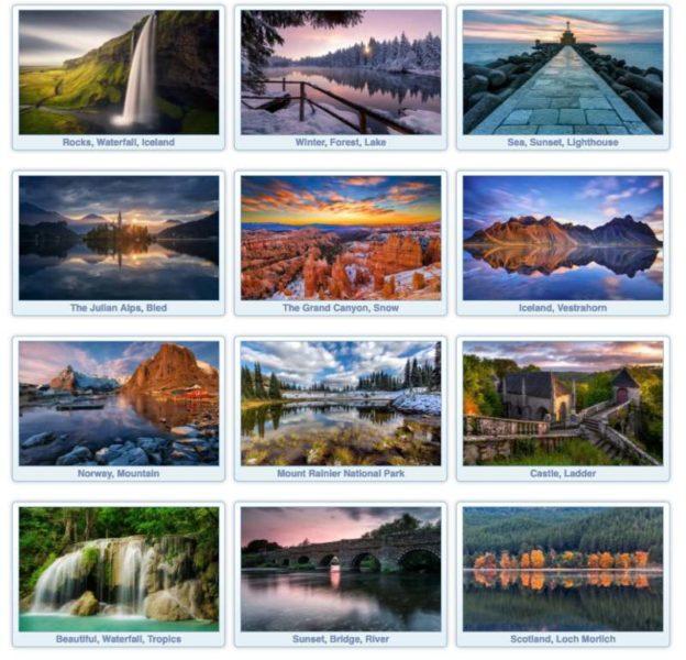 Fondos de pantalla HD de paisajes