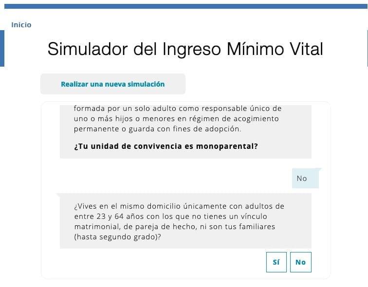 Cuestionario ingreso mínimo vital
