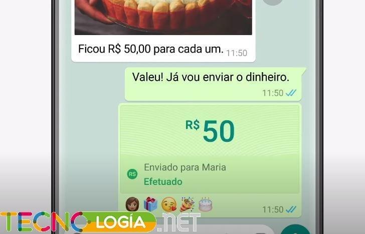 pagos desde whatsapp