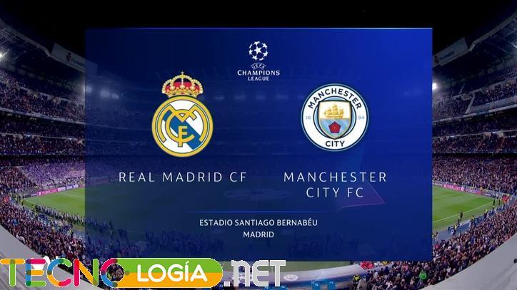 Cómo ver online el partido Manchester City Real Madrid de Champions