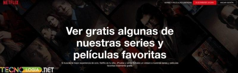 Cómo ver series gratis de Netflix
